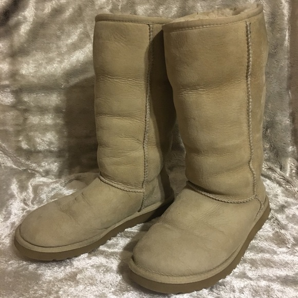 Authentic Women's Classic Tall Tan Ugg Boots